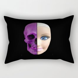 Pink through and through Rectangular Pillow