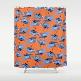 crazy summer Shower Curtain