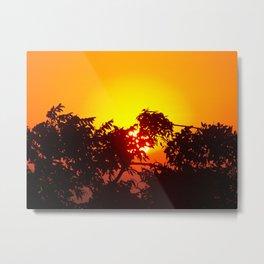 Not Another Sunset  Metal Print