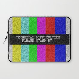 Technical Difficulties Laptop Sleeve