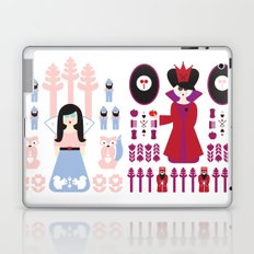 Good vs Evil: Snow White and the Evil Queen Laptop & iPad Skin