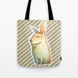smile rabbit Tote Bag