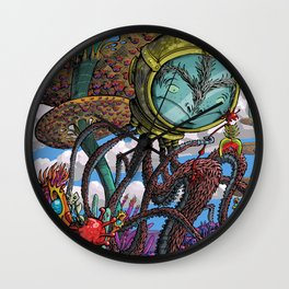 Otherworldly Ecologist Wall Clock