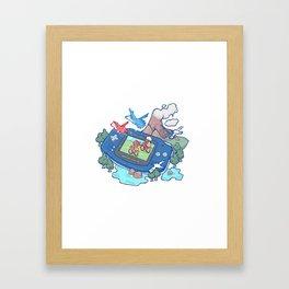 Pocket Monster V3 - The Legend Lives Framed Art Print