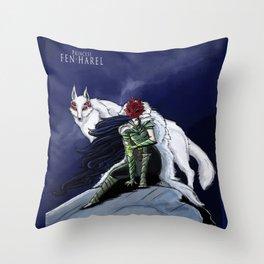 Princess Fen'harel Throw Pillow