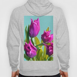 MAGIC PINK TULIPS Hoody