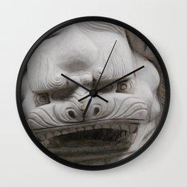 Foo Dog 2 of 2 Wall Clock