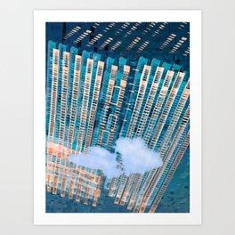 Cybernetic Memory 20-08-16-Menchulica Art Print