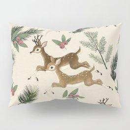 winter deer // repeat pattern Pillow Sham