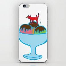 Ice-cream dog iPhone & iPod Skin