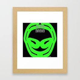 2KSD Alien Droid One Framed Art Print