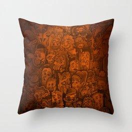 MonsterMonster Lamp Mash Up  Throw Pillow