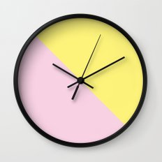 Opostos III Wall Clock