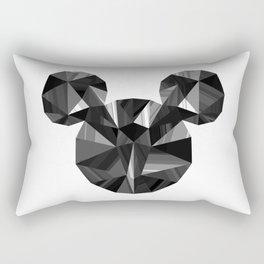 Black Pop Crystal Rectangular Pillow