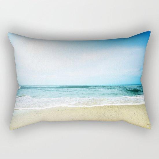 Paradise Ocean waves Rectangular Pillow