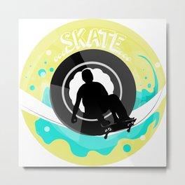 Skate wheels Metal Print