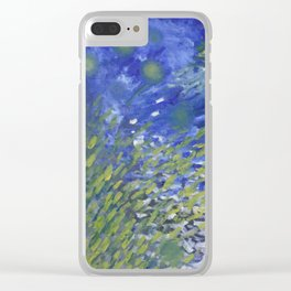 Under Water Life Clear iPhone Case
