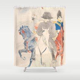 """Henri de Toulouse-Lautrec """"Napoleon"""" Shower Curtain"""