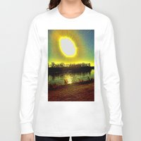 madonna Long Sleeve T-shirts featuring The Madonna  by Rachel Ernst