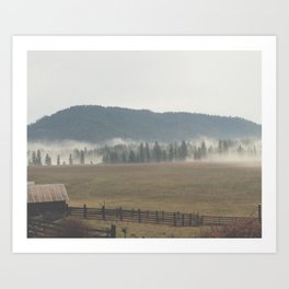 Eastern Washington Art Print