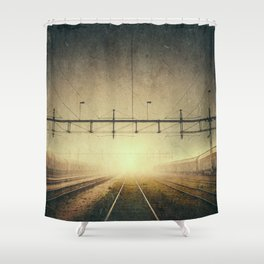 Where to go Shower Curtain