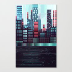NeoSkyLine Canvas Print
