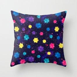 Starbits Throw Pillow