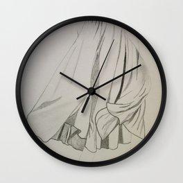 the beach drees Wall Clock