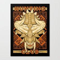 Hunting Club: Diablos Canvas Print