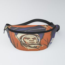 ddr, Glory to the Soviet people, the pioneers of space! Fanny Pack