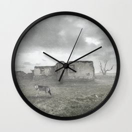 LOST ONE-WOLF Wall Clock