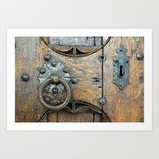 Church door Art Print