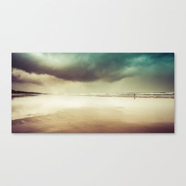 Ocean Solitude Canvas Print