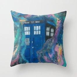 Doctor Who - Tardis Throw Pillow