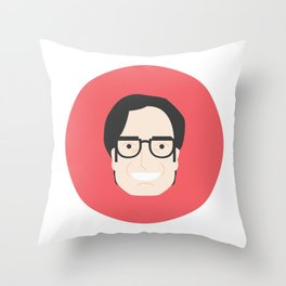 Gael García Bernal Throw Pillow