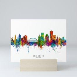 Rochester New York Skyline Mini Art Print