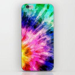 Textured Tie Dye iPhone Skin