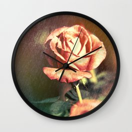 Scents of Roses Wall Clock