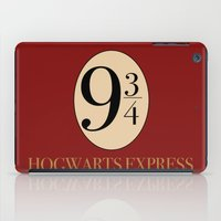 harry iPad Cases featuring HARRY POTTER by Sophie