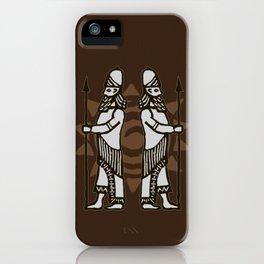 Mesopotamian Heroes iPhone Case