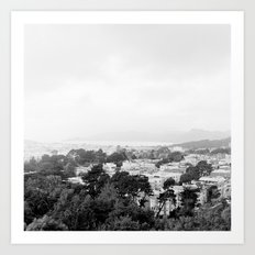 San Francisco Cityscape No. 2 Art Print