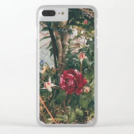 Simple garden Clear iPhone Case