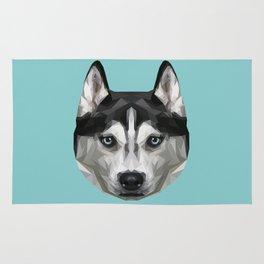 Husky // Blue Rug