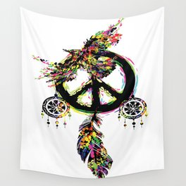 Peace dream cather Wall Tapestry