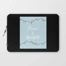 Peace And Bright Laptop Sleeve