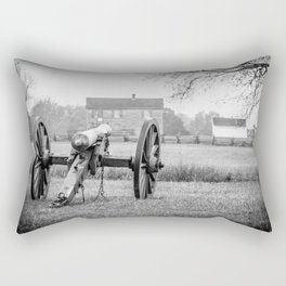 Melancholy Cannon Henry House Manassas National Battlefield Park Virginia Civil War Battelground Rectangular Pillow