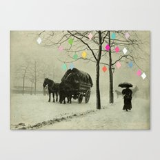 Christmas Day Canvas Print