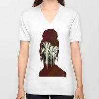 1d V-neck T-shirts featuring Die Kirchenmaus 1d by Marko Köppe