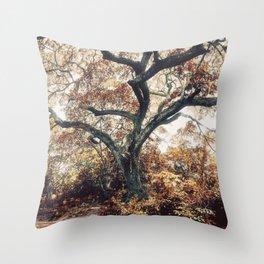 Crimson Fate - Magical Realism Life Throw Pillow