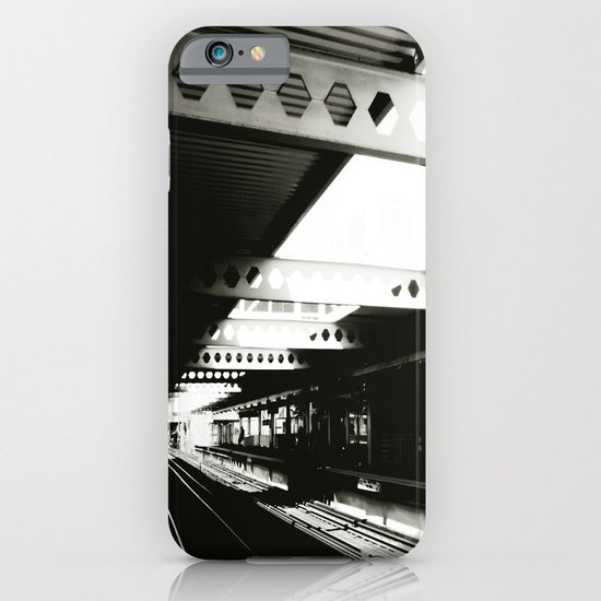 blue line iPhone & iPod Case